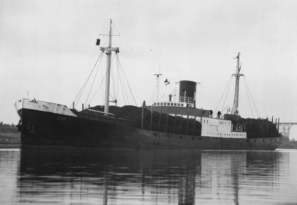 Photos General cargo avant 1940 (Plus 3000gt) 4 Gyda_c10