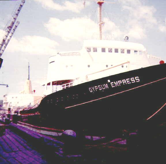 Photos Navires du monde construit entre 1950-1960 (7) Gypsum12