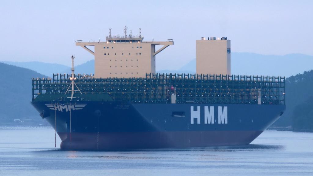 Pourquoi HMM construit-il les plus grands navires du monde? Hmm_so10