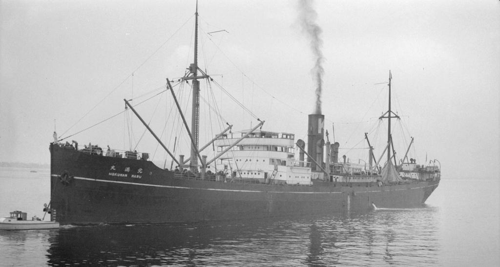 Photos General cargo avant 1940 (Plus 3000gt) 16 Hokuma10