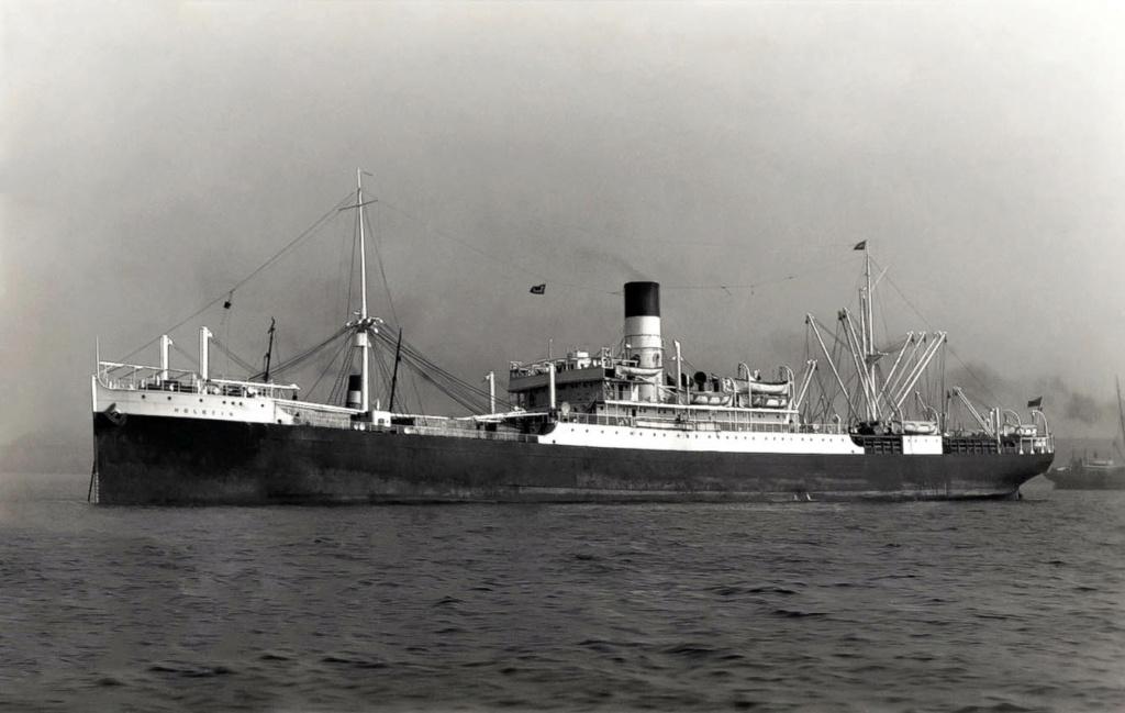 Photos General cargo avant 1940 (Plus 3000gt) 17 Holbei10