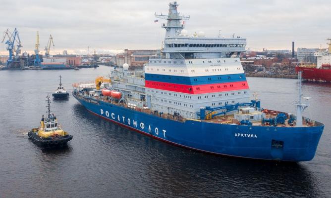 Fin des essais en mer pour l'Arktika, le plus puissant brise Image110
