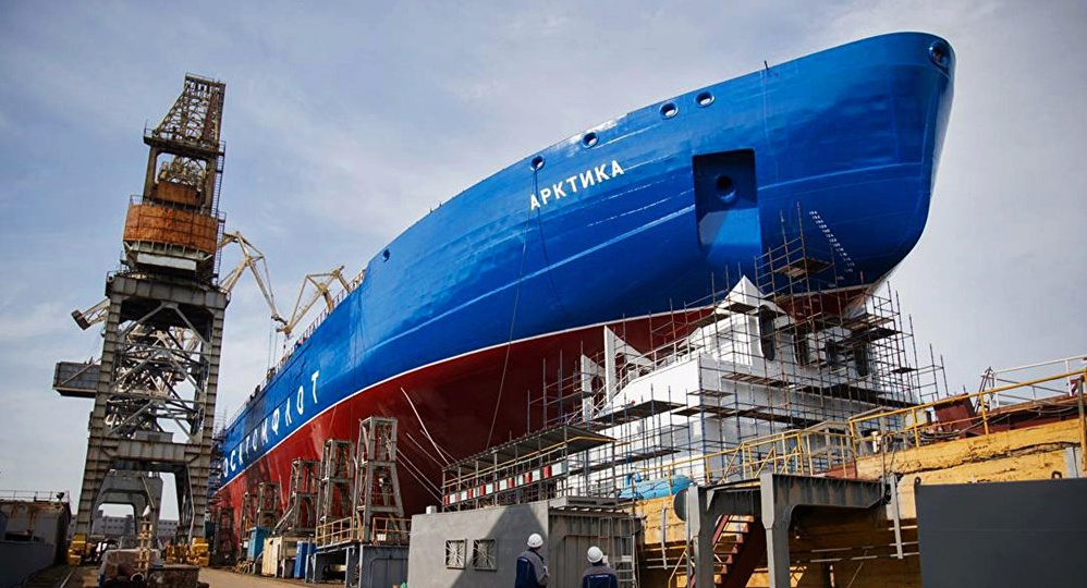 Fin des essais en mer pour l'Arktika, le plus puissant brise Image111