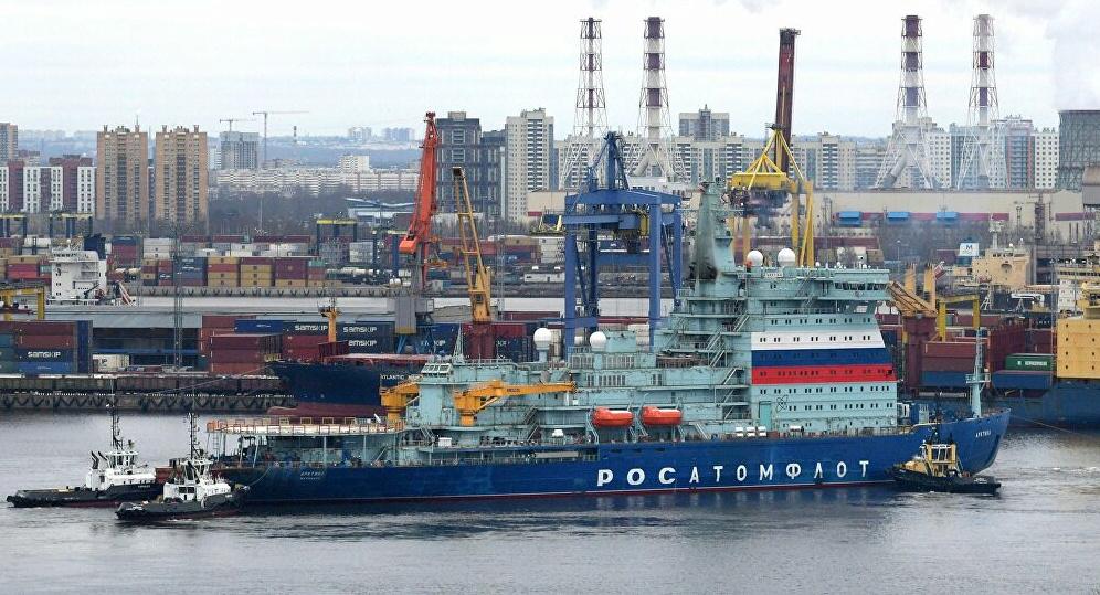 Fin des essais en mer pour l'Arktika, le plus puissant brise Image112