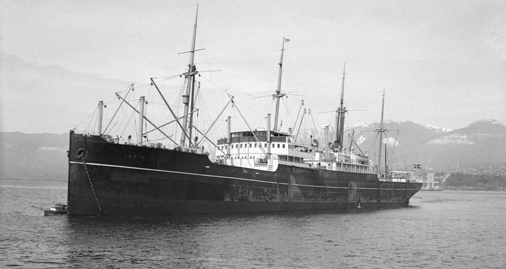 Photos General cargo avant 1940 (Plus 3000gt) 13 India10