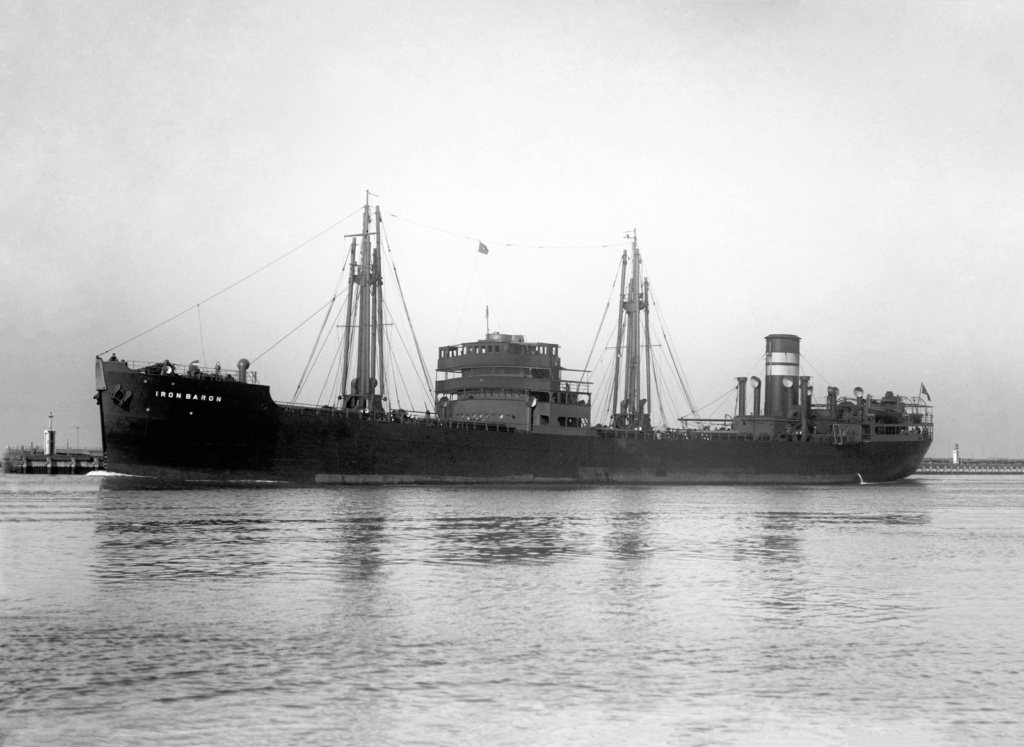 Photos General cargo avant 1940 (Plus 3000gt) 26 Iron_b12