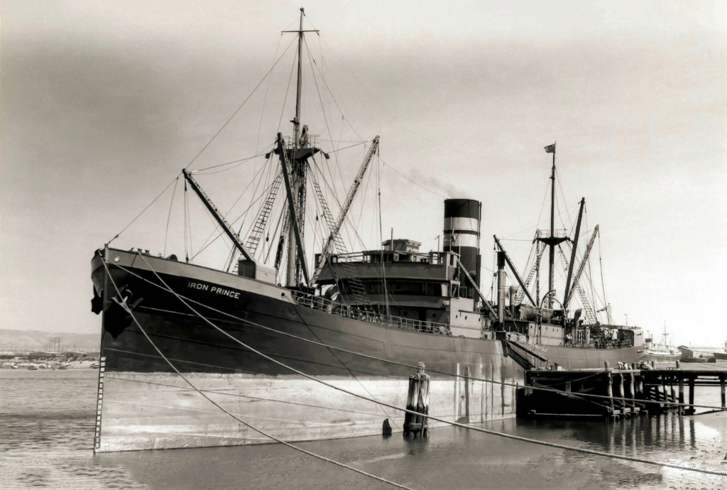 Photos General cargo avant 1940 (Plus 3000gt) 25 Iron_p10