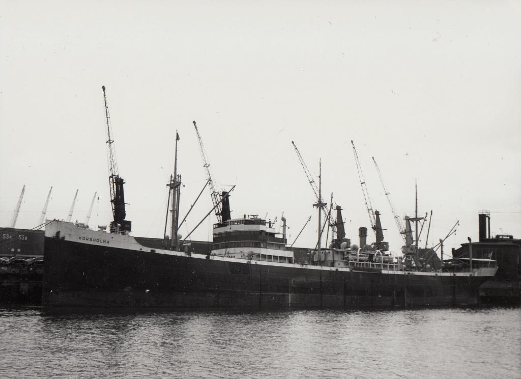 Photos General cargo avant 1940 (Plus 3000gt) 5  Korsho11