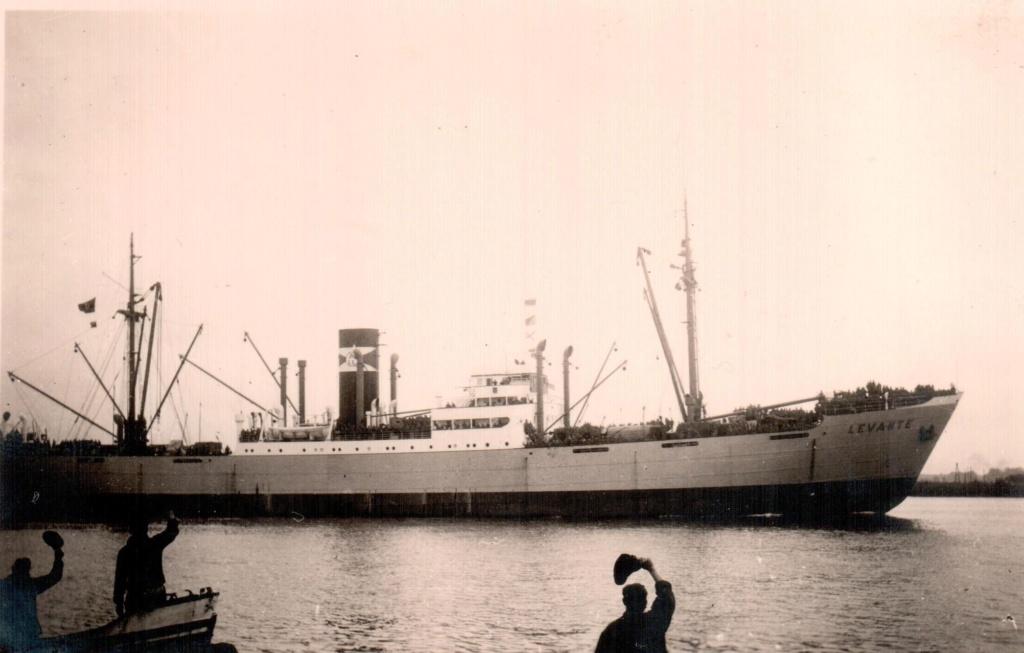 Photos General cargo avant 1940 (Plus 3000gt) 9 Levant10