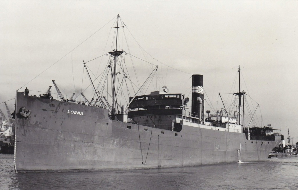Photos General cargo avant 1940 (Plus 3000gt) 20 Lorna_11