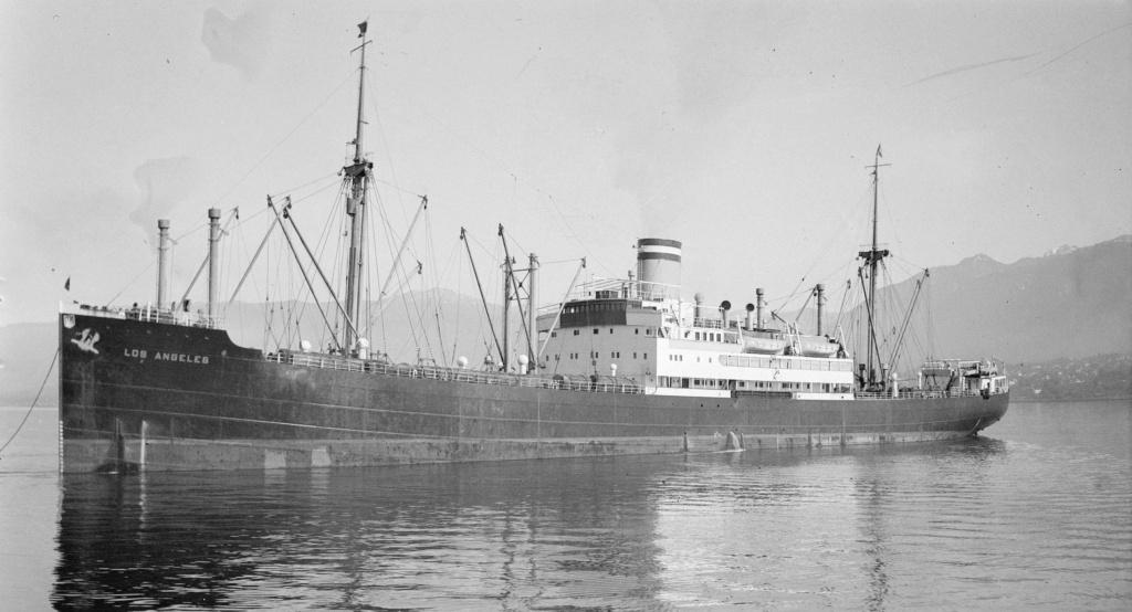 Photos General cargo avant 1940 (Plus 3000gt) 16 Los_an11