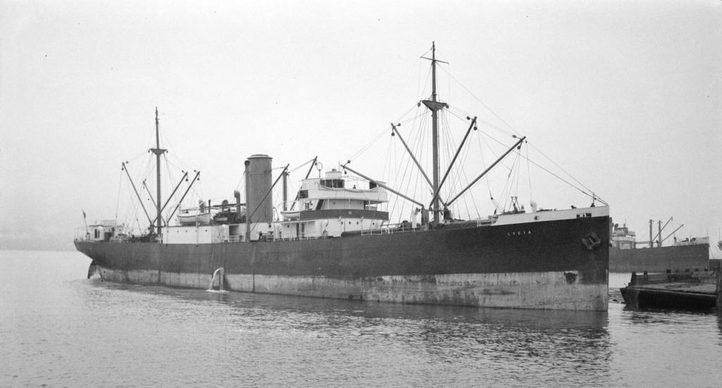 Photos General cargo avant 1940 (Plus 3000gt) 9 Lycia10