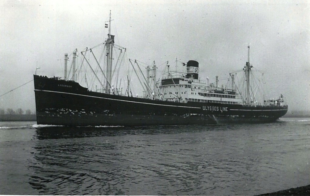 Photos General cargo avant 1940 (Plus 3000gt) 17 Lycurg10