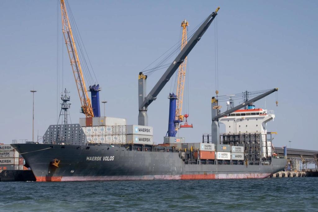 Photos de navires Luxembourgeois Armateur enre Belgique M Maersk13