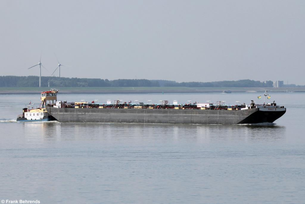 Photos de navires Luxembourgeois Armateur enre Belgique M Maike_10