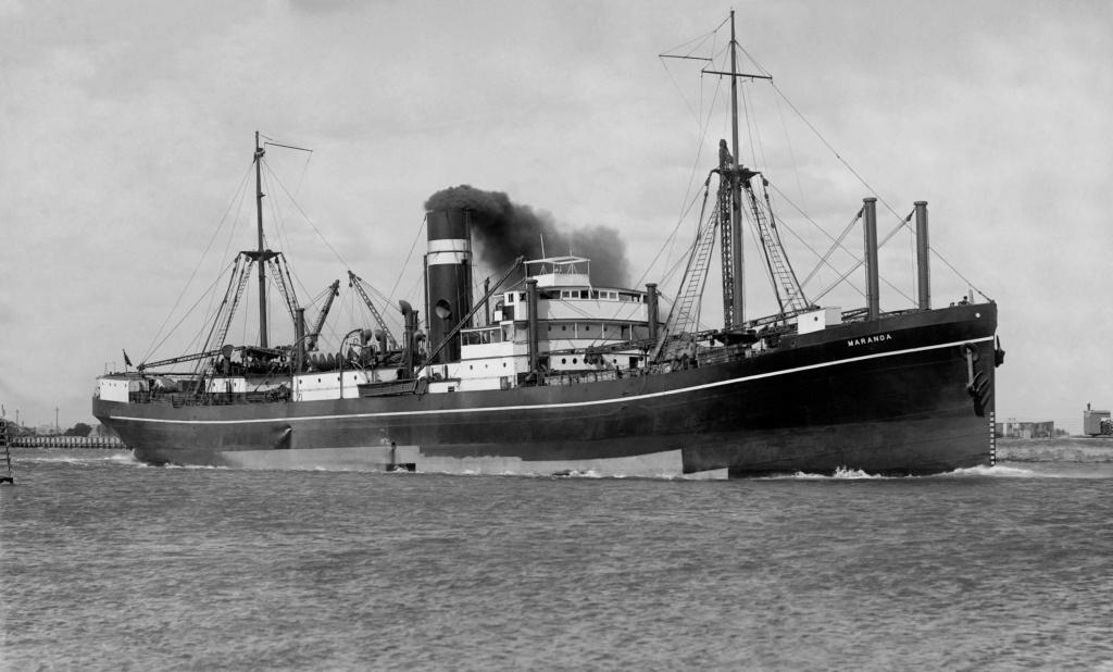 Photos General cargo avant 1940 (Plus 3000gt) 15 Marano11