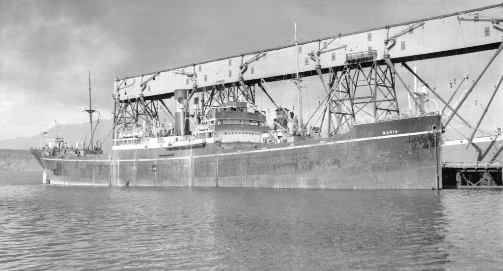 Photos General cargo avant 1940 (Plus 3000gt) 11 Maria10