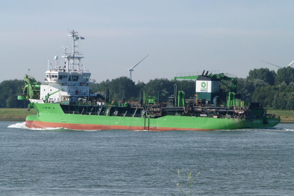 Photos de navires Luxembourgeois Armateur enre Belgique M Mariek10