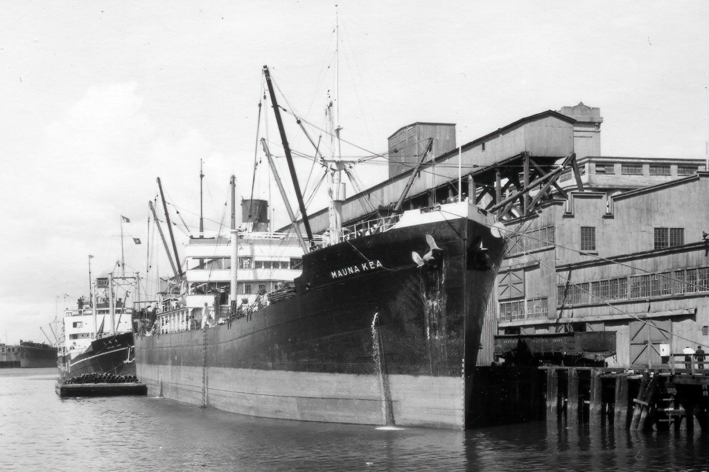 Photos General cargo avant 1940 (Plus 3000gt) 3 Mauna_10
