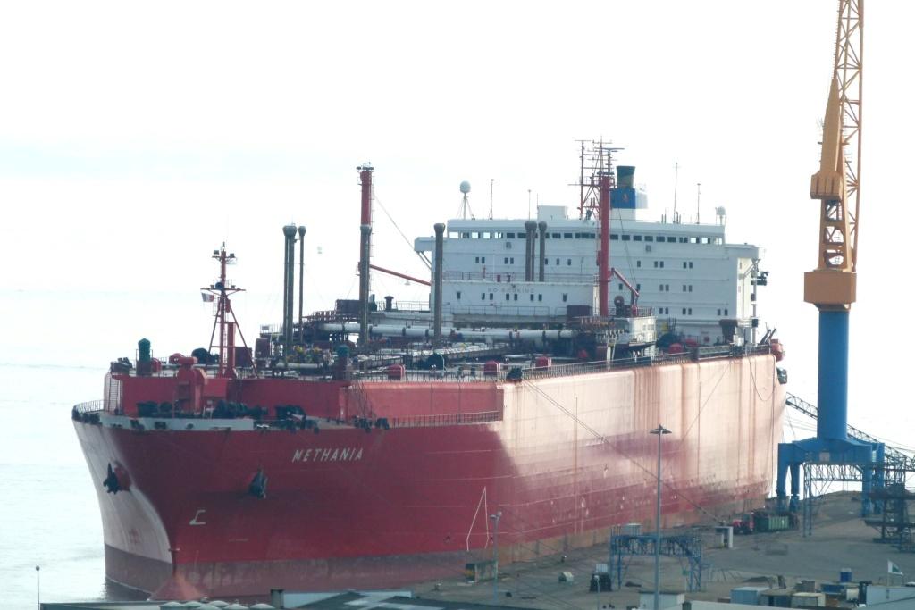 Photos des Navires Belge de la marchande,Fluviale et Pêche 2 Methan10