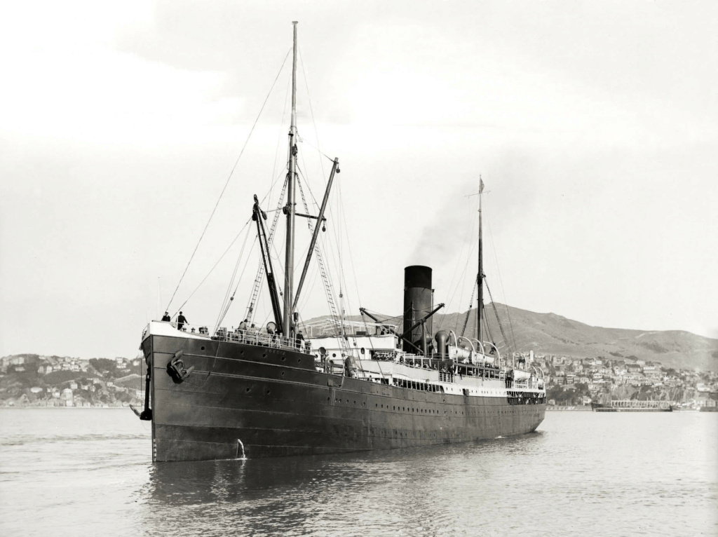 Photos General cargo avant 1940 (Plus 3000gt) 25 Mokoia10