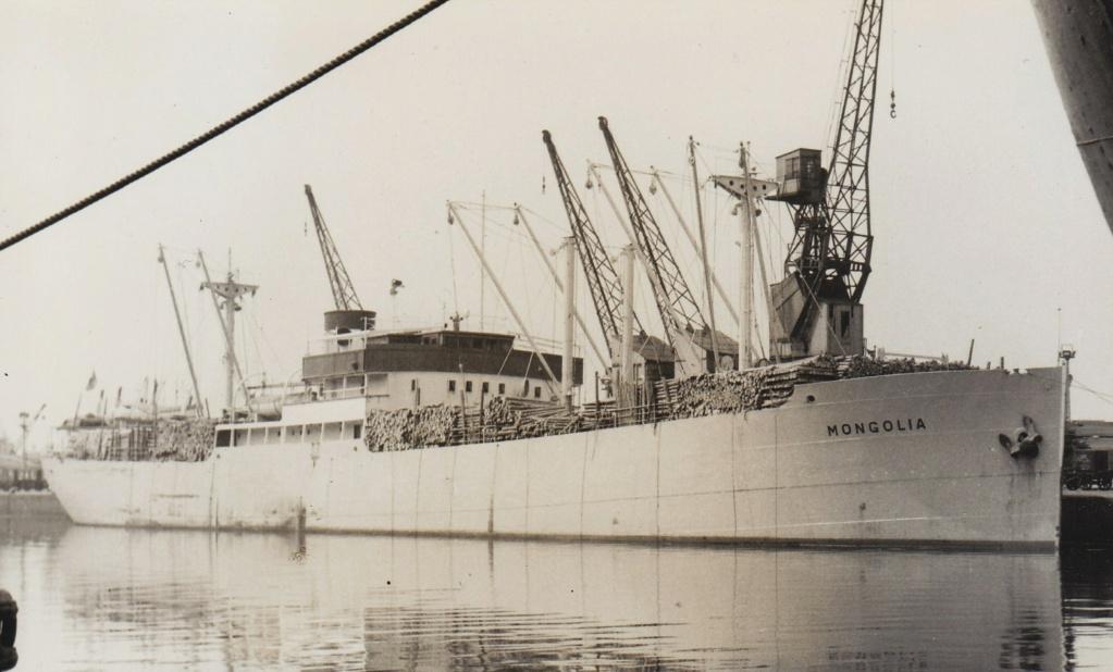 Photos General cargo avant 1940 (Plus 3000gt) 20 Mongol10