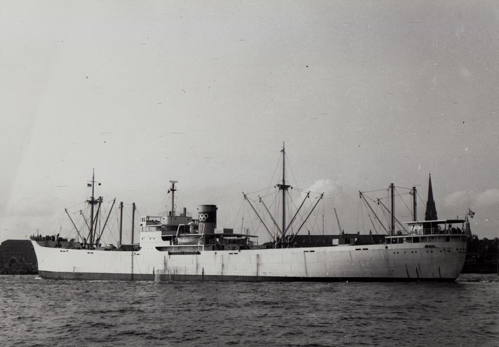 Photos General cargo avant 1940 (Plus 3000gt) 7  Mosnes10
