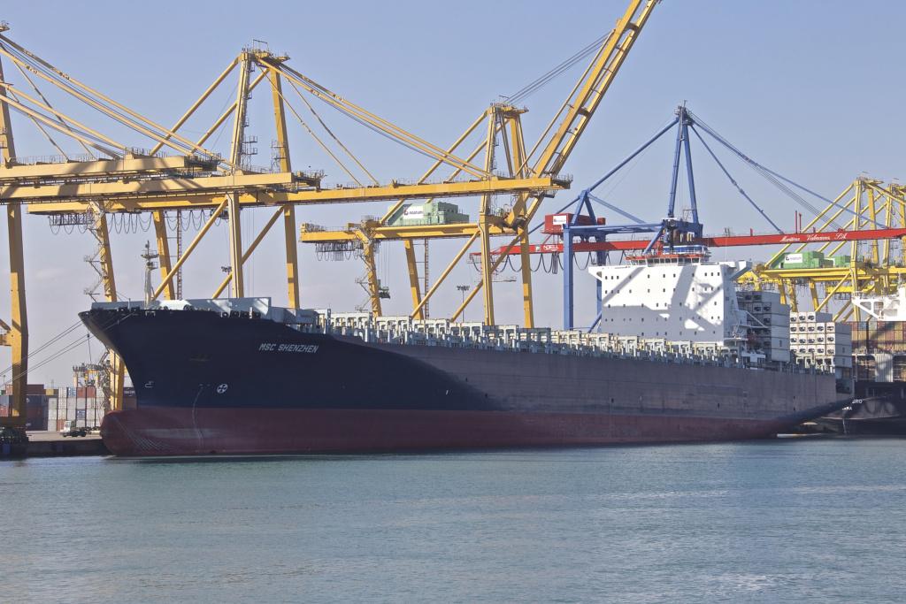 Photos de navires Luxembourgeois Armateur enre Belgique M Msc_sh10