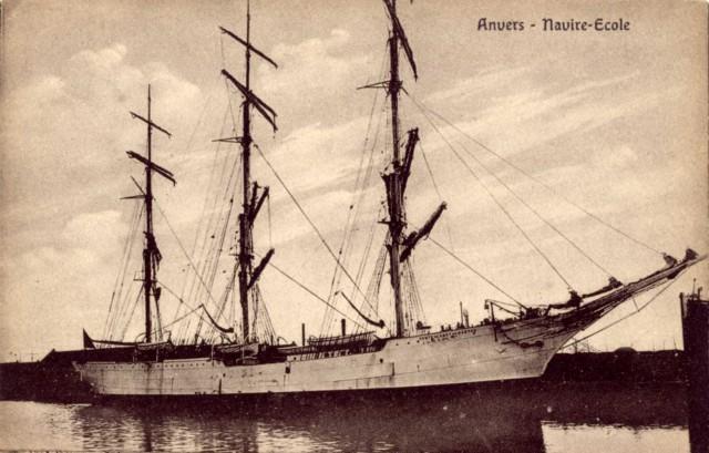 Le Comte de Smet de Naeyer navire-école belge Neb1-c10