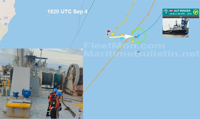 Explosion et incendie sur un pétrolier près du Sri Lanka Newdia18