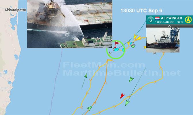 Explosion et incendie sur un pétrolier près du Sri Lanka - Page 2 Newdia23