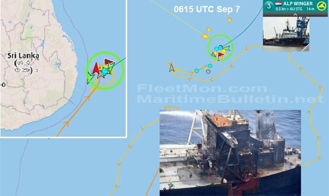 Explosion et incendie sur un pétrolier près du Sri Lanka - Page 2 Newdia28