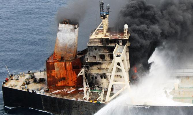 Explosion et incendie sur un pétrolier près du Sri Lanka - Page 2 Newdia29