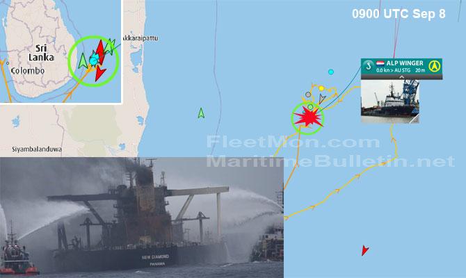 Explosion et incendie sur un pétrolier près du Sri Lanka - Page 2 Newdia31