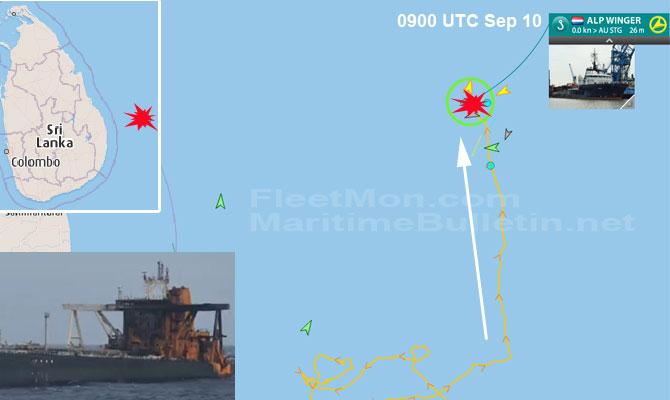 Explosion et incendie sur un pétrolier près du Sri Lanka - Page 2 Newdia34