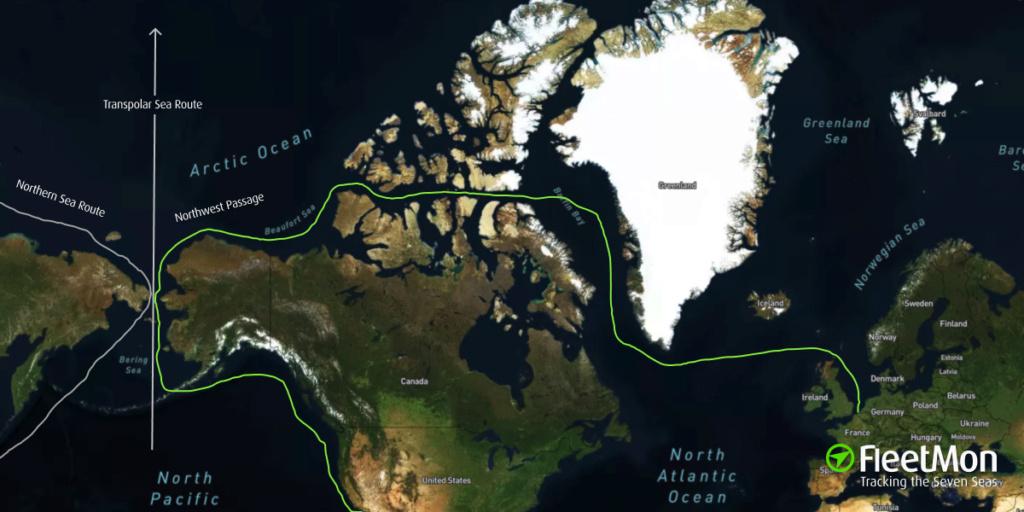 Expédition dans l'Arctique: la nouvelle ruée vers l'or Northw10