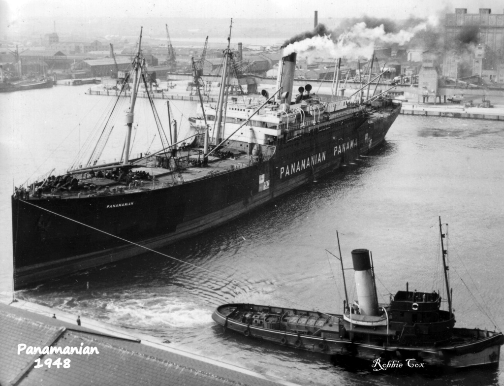 Photos General cargo avant 1940 (Plus 3000gt) 7  Panama10
