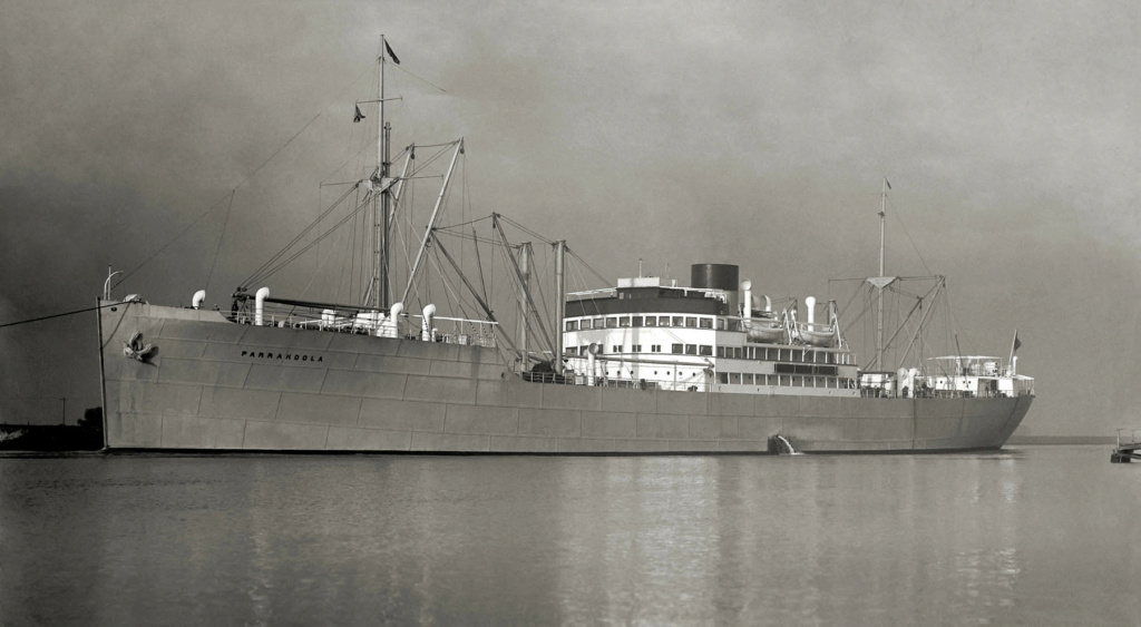 Photos General cargo avant 1940 (Plus 3000gt) 26 Parrak14
