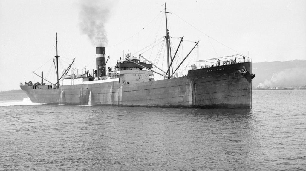 Photos General cargo avant 1940 (Plus 3000gt) 15 Parthe10
