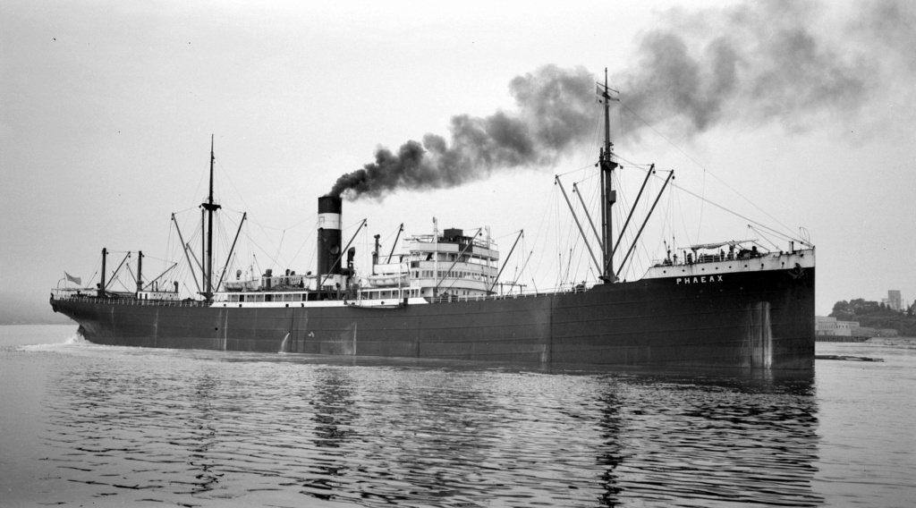 Photos General cargo avant 1940 (Plus 3000gt) 15 Phaeax10