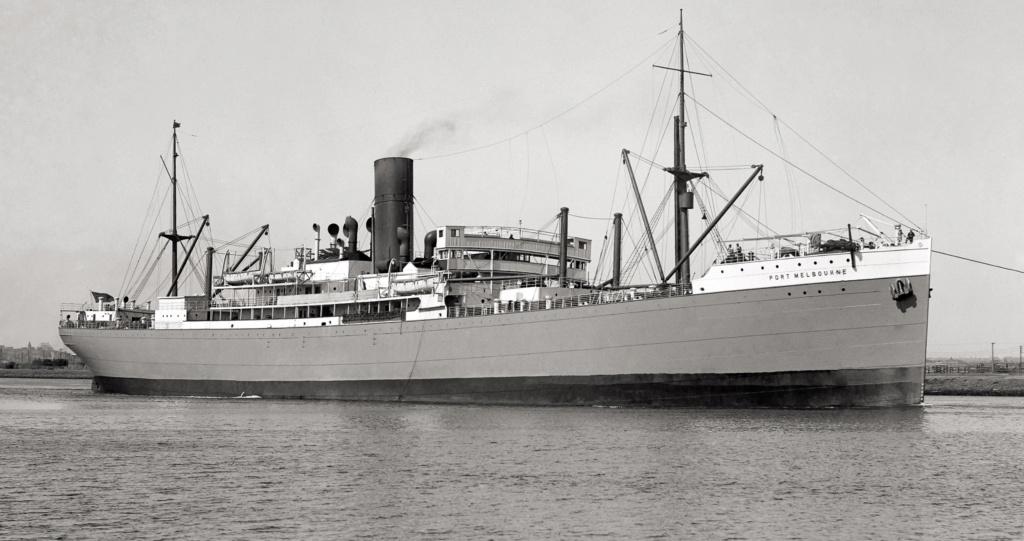 Photos General cargo avant 1940 (Plus 3000gt) 25 Port_m11
