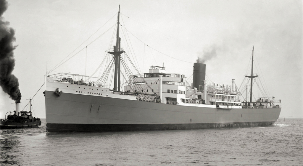 Photos General cargo avant 1940 (Plus 3000gt) 25 Port_w12