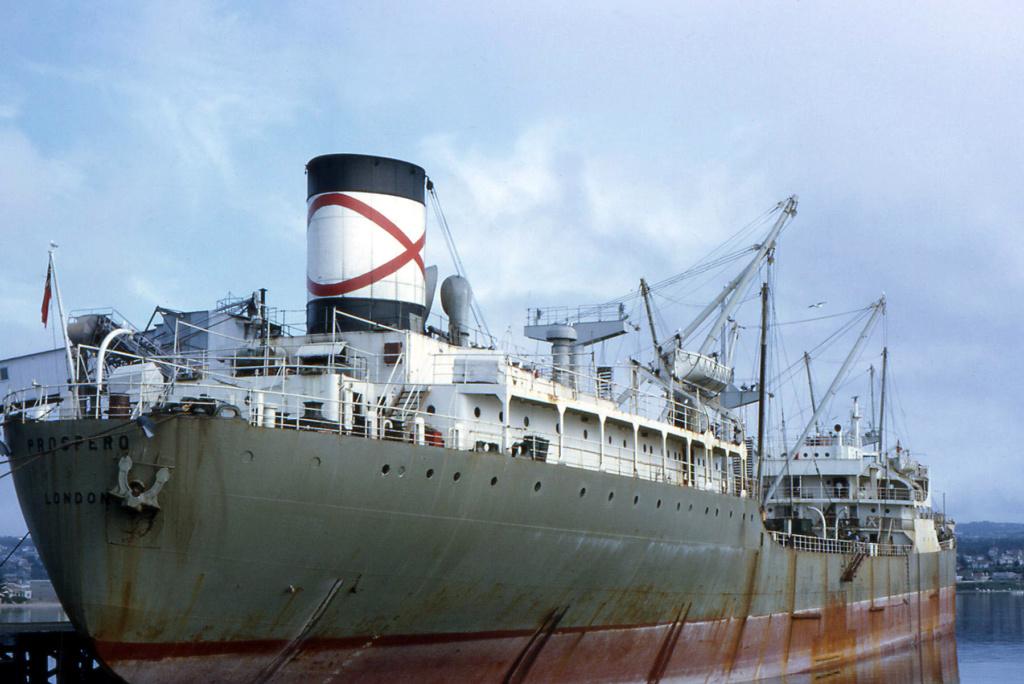 Photos Navires du monde construit entre 1950-1960 (7) Prospe10