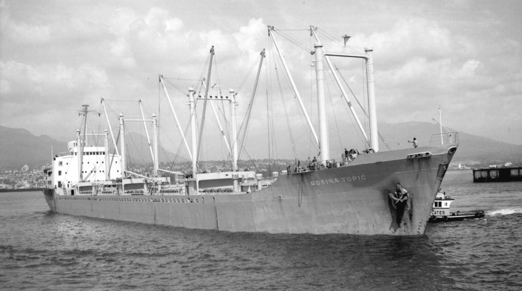 Photos Navires du monde construit entre 1950-1960 (4) Rosina10