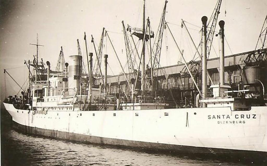 Photos General cargo avant 1940 (Plus 3000gt) 25 Santa_13