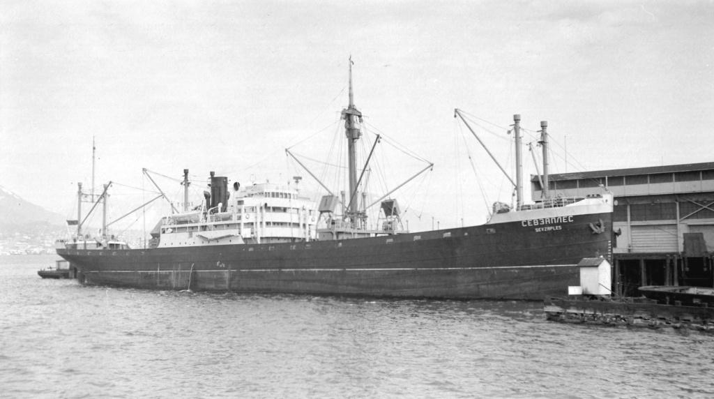 Photos General cargo avant 1940 (Plus 3000gt) 13 Sevzap11