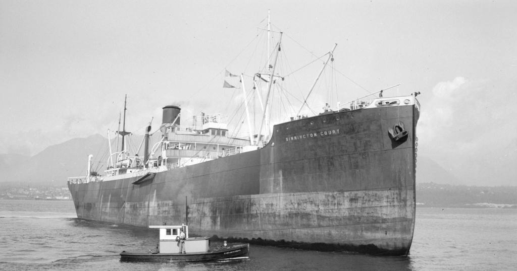 Photos General cargo avant 1940 (Plus 3000gt) 16 Sinnin11