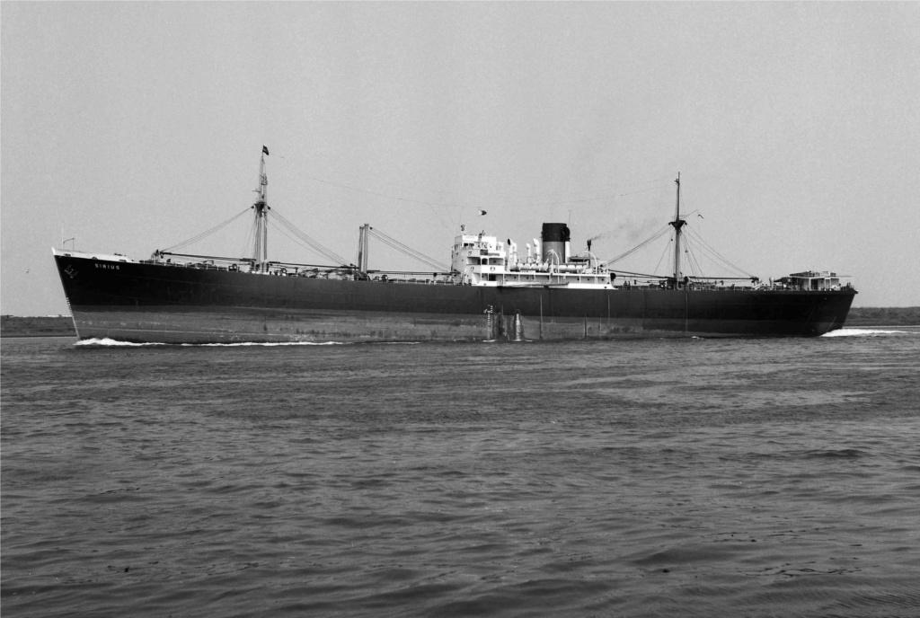 Photos General cargo avant 1940 (Plus 3000gt) 26 Sirius10