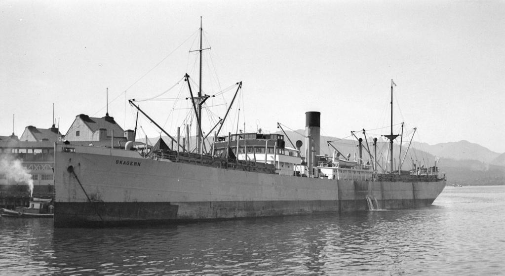 Photos General cargo avant 1940 (Plus 3000gt) 16 Skager10