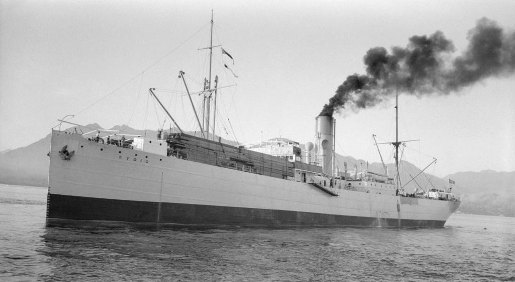 Photos General cargo avant 1940 (Plus 3000gt) 16 Sydic10